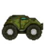 War Monster Truck